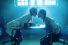 Joker and Harley Quinn from The Suicide Squad. Mad love??