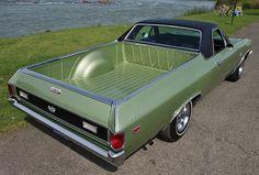 1969 Chevrolet El Camino SS 396.