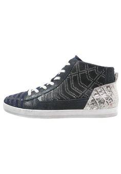 Gabor Sneaker high blue/ocean für Damen