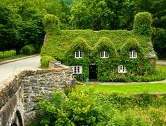 Tu Hwnt I'r Bont Tearoom en Llanrwst, North Wales