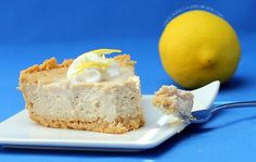lemon cheesecake with a secret ingredient