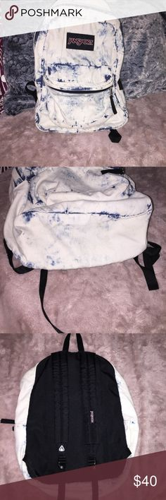 Acid Wash Jansports Backpack Good condition super cute feel free to make an offer! PacSun Bags Backpacks
