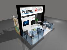 Estande Revista Eventos e Portal Eventos - Brazil Promotion 2015