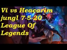 Platinum - Vi vs Hecarim jungler 7-5-20