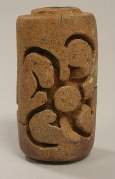 Roller Stamp Date: 5th–6th century Geography: Costa Rica Culture: Atlantic Watershed Medium: Ceramic