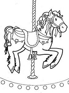 Image Result For Merry Go Round Animal Free Coloring Pages Horse PagesColoring BooksFree ColoringKids WallpaperHorse DrawingsCarousel