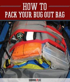 Properly Packing 12, 24, 48, and 72 Hour Survival Bags via @survivallife