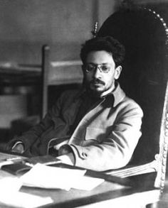 Yakov Sverdlov, president of the Russian Soviet Republic, sits at his desk in Moscow in a photo taken a few months after ordering the execution of the Romanovs. Sverdlov only lasted eight months after ordering the execution of the Romanovs. On March 16, 1919, Sverdlov was visiting a Moscow factory, when a worker picked up a pipe and fatally beat him on the head. >>> I did not know this.