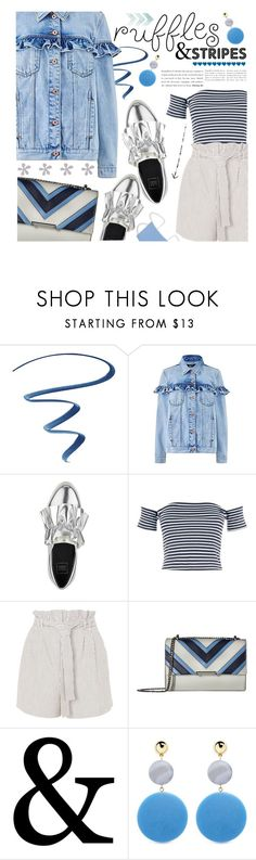 """""""Spring-Summer 17 (Plus Size Chic)"""" by foolsuk ❤ liked on Polyvore featuring LORAC, Topshop, Ivanka Trump and Elizabeth and James"""