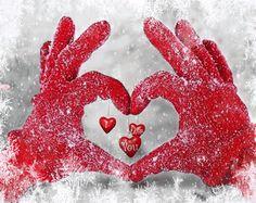 Mão coração
