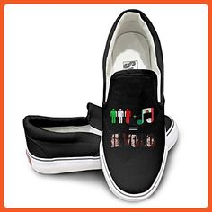 EWIED Unisex Classic My Way-Il Volo Slip-On Shoes Black Size36 - Loafers and slip ons for women (*Amazon Partner-Link)