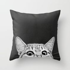 Buy You asleep yet? Throw Pillow by Laura Graves. Worldwide shipping available at Society6.com. Just one of millions of high quality products available.