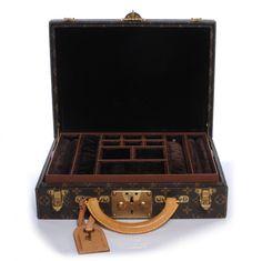 Fashionphile - LOUIS VUITTON Monogram Boite Bijoux 34 Jewelry Case Hard Trunk