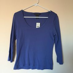 BRAND NEW Banana Republic Blue Sweater Top BRAND NEW WITH TAGS Banana Republic Top Very flattering, and the material feels amazing Perfect condition, never worn! I offer discounts on bundles, make me an offer :) Banana Republic Tops