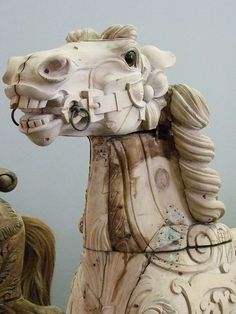 Carousel Animals late 19th-early 20th century (1) by mharrsch, via Flickr