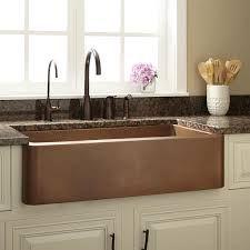 36u0026x22; Raina Copper Farmhouse Sink