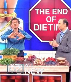 Dr. Fuhrman on Dr. Oz: Ending of Dieting weight-loss tips and anti-aging wrinkle creams
