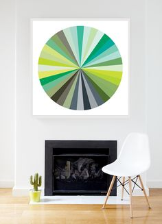 Colour Wheel Graphic Print   from $110 visit mcollection.com.au  in Affordable Art