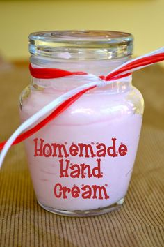 "Homemade Hand Cream | Macke Monologues - 3 inexpensive ""ingredients""; just in time for Christmas!"