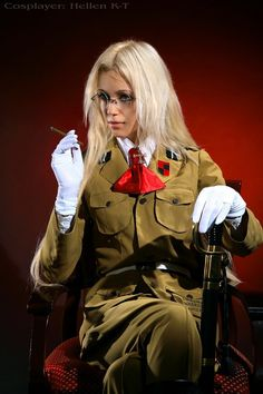 Integra Hellsing cosplay