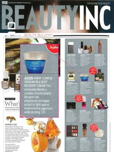 #ANEW Clinical Skinvincible Deep Recovery Cream is featured in the October issue of WWD's Beauty Inc. Magazine!