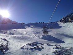 Pefekte Bedingungen am Stubaier Gletscher