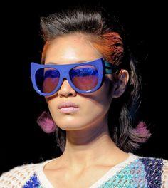Fashion & Lifestyle: Tsumori Chisato Sunglasses Fall 2012 Womenswear