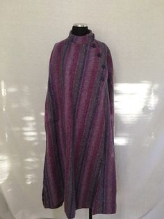 96c6f97c4cb6 My Vtg Jimmy Hourihan Boru Cape Wool Coat by ! Size One size for $$105.00