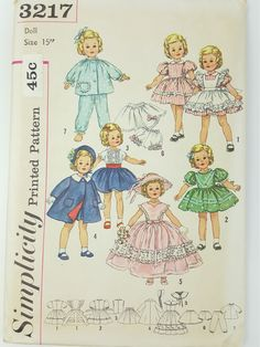 Vintage 1950s Simplicity 3217 Shirley Temple by CircularVintage