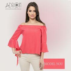 Un nou model de bluză a sosit la Adrom Collection. Achiziționează-l en-gros direct de aici, simplu și rapid: http://www.adromcollection.ro/517-bluza-angro-b059.html