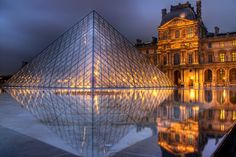 The Louvre, Paris, France  Louvre at first sight….. (by arrongent) <3 <3 <3