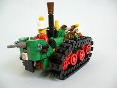 ~ Lego MOCs ~ steampunk Lego Minion, Minions, Lego Creator Sets, The Creator, Steampunk Lego, Lego Ww2, 6th Birthday Parties, Lego Creations, Awesome Lego
