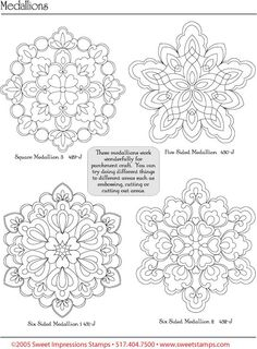 pergamano patterns | Pergamano šablony - free pattern - Kateřina Horáková - Picasa ...