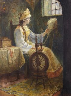 Russian costume in painting. Sergey Dmitrievich Miloradovich (1851 – 1943)