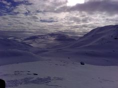 Buskerud, Norway: Skiing in Hemsedal