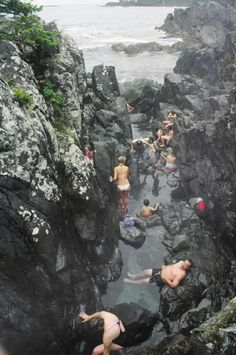 Tofino hot springs, Vancouver Island, BC, Canada, Want to go here! - Picmia