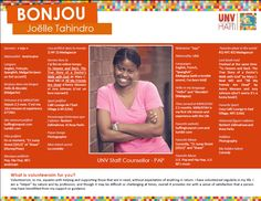 Meet Joëlle Tahindro, UNV Staff Counselor in #Haiti!