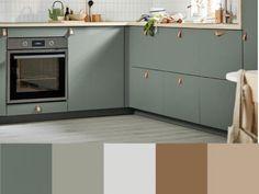 Warm Gray Paint, Warm Grey, Kitchen Cabinets, Diy, Home Decor, Decoration Home, Bricolage, Room Decor, Cabinets