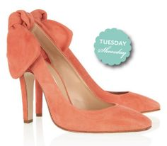 coral shoes. want