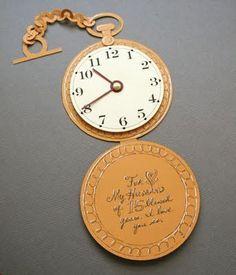 tarjetas de relojes de alicia en el pais de las maravillas - Buscar con Google