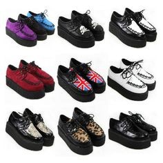 Creepers. My favorite shoes besides converse.