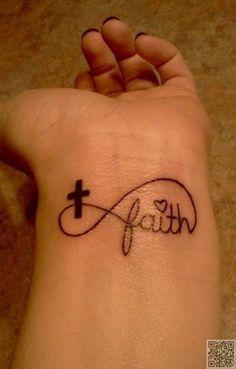 7. #déclarer votre foi - 32 #tatouages de poignet #inspirante...