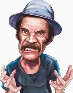 Fórum Chaves: Mas como ousam me acordar às seis da madrugada? Funny Face Drawings, Funny Faces, Cartoon Drawings, Cartoon Art, Cartoon Characters, Cartoon Ideas, Funny Caricatures, Pop Art, Humor