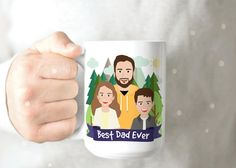 Father's Day Gift - Funny Husband Mug - Fathers Day Mug - Funny Dad Coffee Mug - New Dad Coffee Mug - Custom Grandpa Mug - New Grandpa Mug