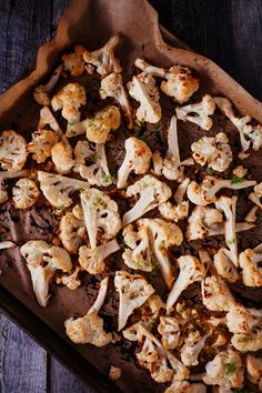 Miso Roasted Cauliflower with Lime