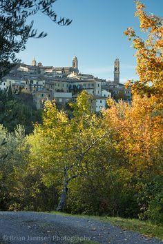 Montalcino, Tuscany, Italy.  © Brian Jannsen Photography