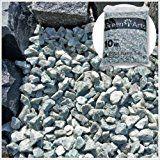 砕石 アイスブルーロック 青 砂利 大理石 約1.5cm 20kg
