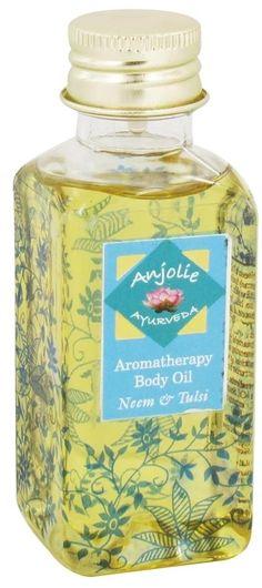 Anjolie Ayurveda Aromatherapy Body Oil Neem Tulsi