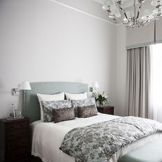 Such a tranquil guest room at our Hamilton project