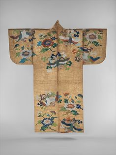 Kimono. Noh Costume 2nd half 18th century  | Japan | Edo period (1615–1868) | The Met